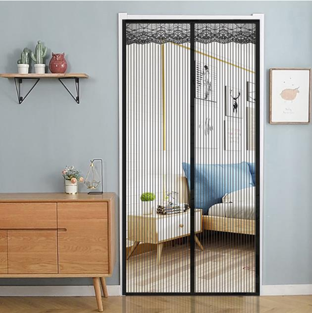 Imán de cortina antimosquitos Para atraer mosquitos, Para el hogar mosquitera, puerta...