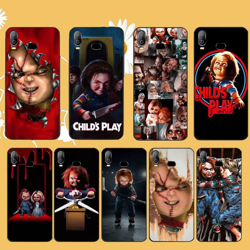 PENGHUWAN Son Seed of Chucky Child's Play Cover Black Soft Phone Case For Samsung A10 A20 A30 A40 A50 A70 A71 A51 A6 A8 2018