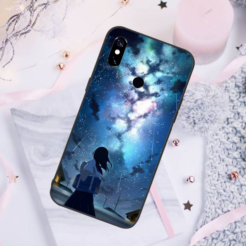Anime Your Name Phone Case For Xiaomi Redmi note 7 8 9 pro 8T 9S Mi Note 10 Lite pro  - buy with discount