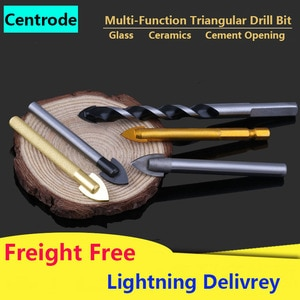 Chrome Steel Alloy Multi-Function Triangle Drill Bit Glass Concrete Wall Ceramic Tile Drill Alloy Triangular Bit Cement Opening