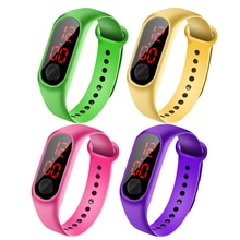 Children Watches LED Digital Wrist Watch Bracelet Kids Outdoor Sports Watch for Boys Girls Electroni