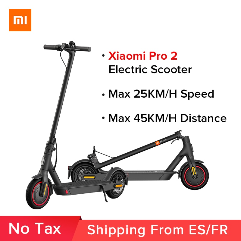 Mi Electric Scooter Pro 2 Original Xiaomi Mijia Foldable Lightweight Skateboard Adult Pro 25km/h Mi E-Scooter Skateboard Pro 2