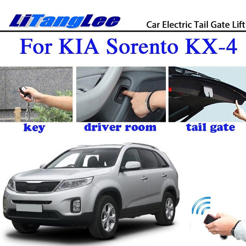 LiTangLee Carro Elétrico Elevador Porta Traseira Porta Traseira KX-4 Assist System Para KIA Sorento 2014 ~ 2020 Controle Remoto Tampa Da Mala