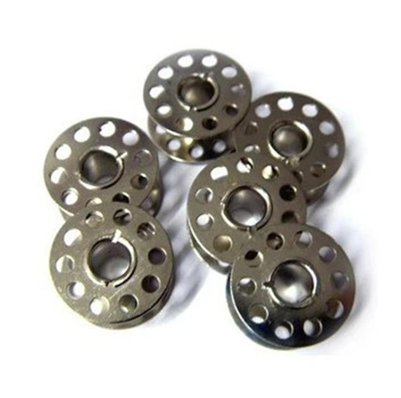 10 stücke Nähmaschine Spulen Haushalt Nähmaschine Teile Nadel Gewinde Handwerk Spulen Nähen Praktische Werkzeug Zubehör
