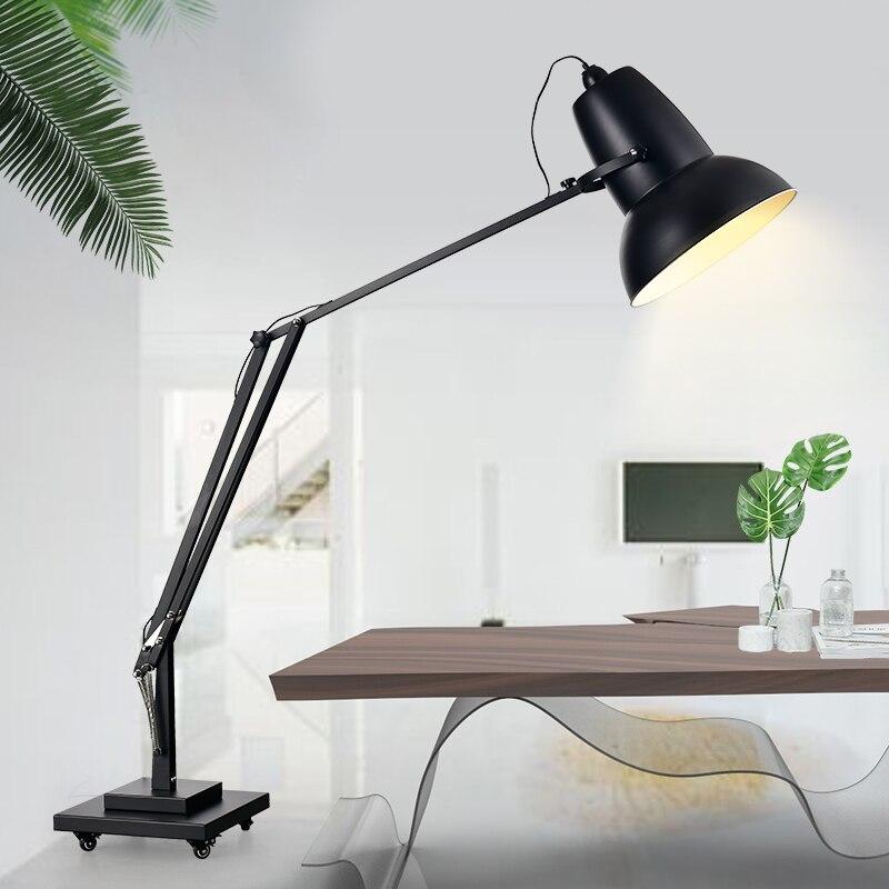 Nordique vertical créatif rocker personnalité moderne grande villa Club hall salon étude lampadaire