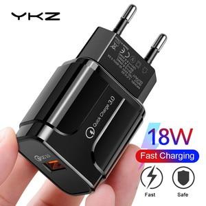 USB зарядное устройство 3A Быстрая зарядка 18 Вт мобильный телефон зарядное устройство для iPhone 12 Pro EU/US вилка для путешествий настенное зарядное устройство для Huawei Samsung Xiaomi