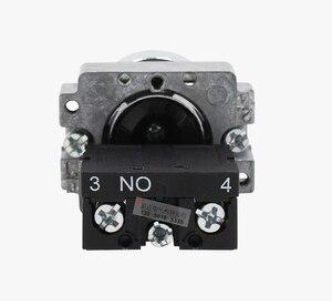 2 pieces of Genuine Schneider Schneider 22mm Metal Key Switch XB2BG61C 2-Segment Self-Reset 1 Normally Open