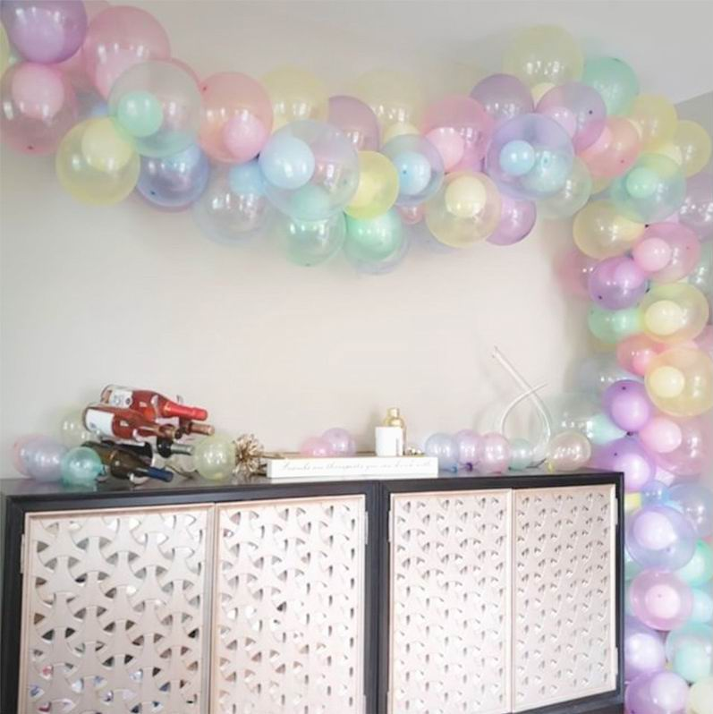 50pcs 100pcs Colorful Crystal Balloon 10 inch Round Bobo Transparent Clear Latex Balloons Wedding Decor Helium Inflatable Balls