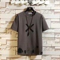 short sleeve t shirt men 2021 summer high quality tshirt top tees classic brand fashion clothes plus size m 5xl o neck
