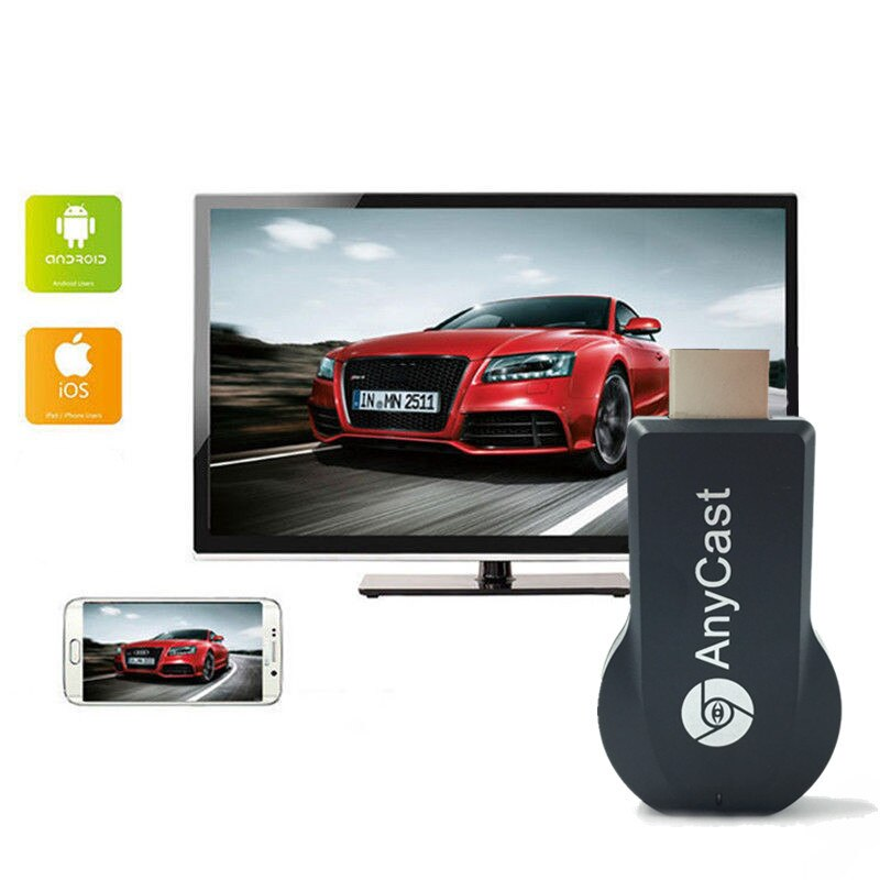 Hot! 1080P Wireless WiFi Display TV Dongle Receiver HDMI-compatible TV Stick for DLNA Miracast for A