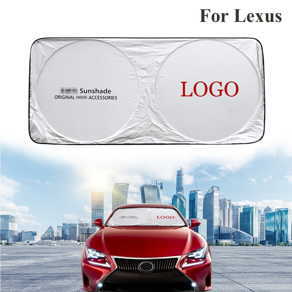 For Lexus IS RC SC Car Sunshade Windshield Front Rear Window Film Visor Cover UV Protection Reflector Car-styling Protector