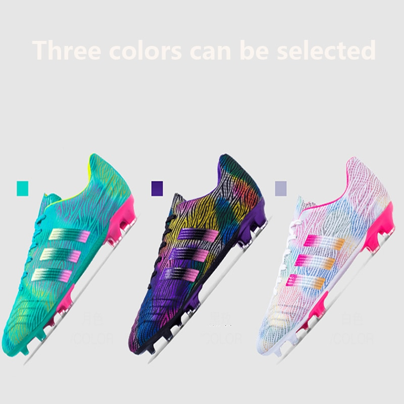 Original Cleats Training TF/FG Soccer Shoes For Men Black Football Boots Kids Outdoor Turf Sport Sne