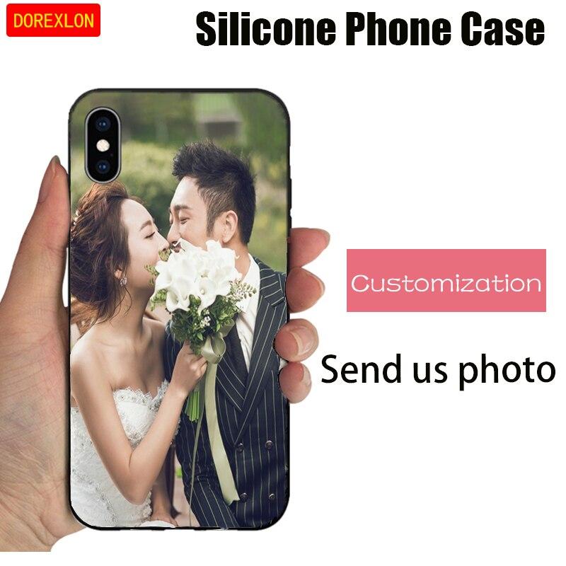 Personalizado añadir su propia Foto imagen teléfono caso suave TPU funda para Huawei P10 Plus Lite Nova 5i PRO Nova 5 Pro