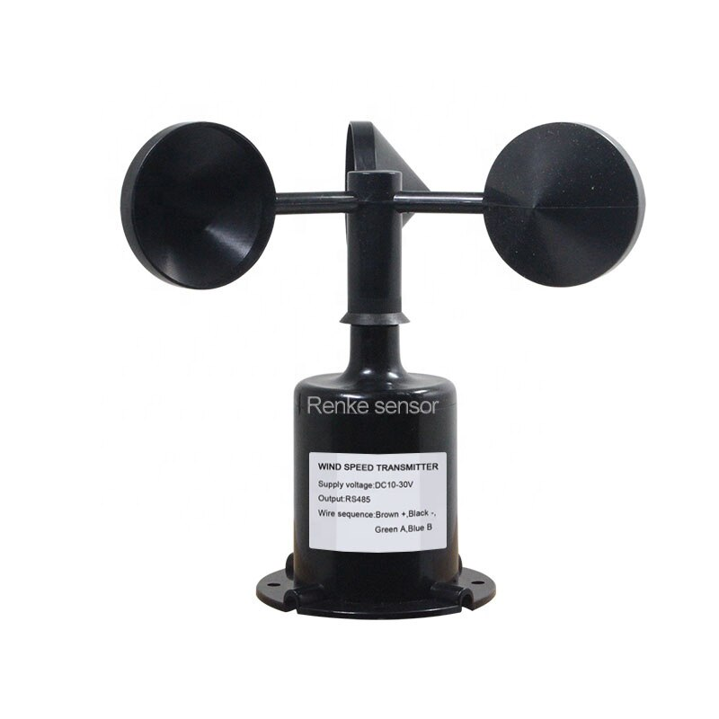 2 years warranty Polycarbon Wind Anemometer Wind Speed Sensor