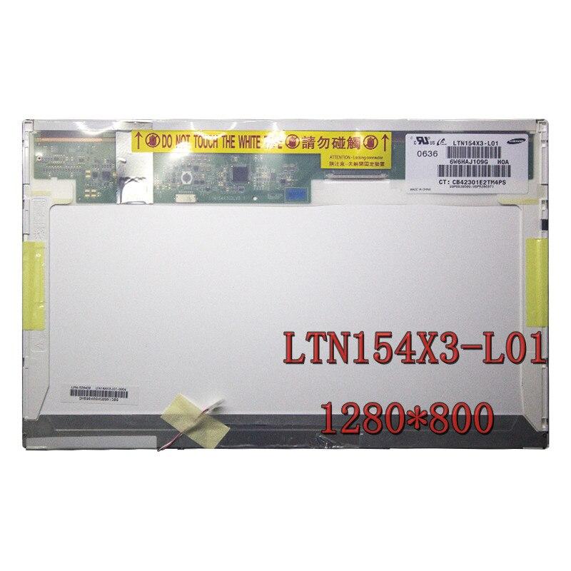 B154EW02 V.1 V.0 V.7 V.3 صالح LTN154X3-L01 L02 L03 L0A L0D B154EW01 N154I1-L0C N154I3-L02 15.4 LCD 30 دبوس 1280X800 LCD شاشة