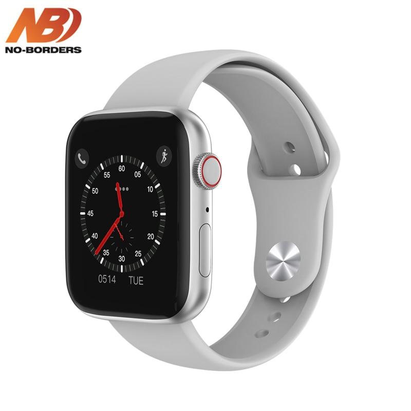 Reloj inteligente Monitor de frecuencia cardíaca ECG IWO 13 lite W35, reloj inteligente resistente al agua, con llamadas, Bluetooth, IP68 y correa de repuesto PK W34
