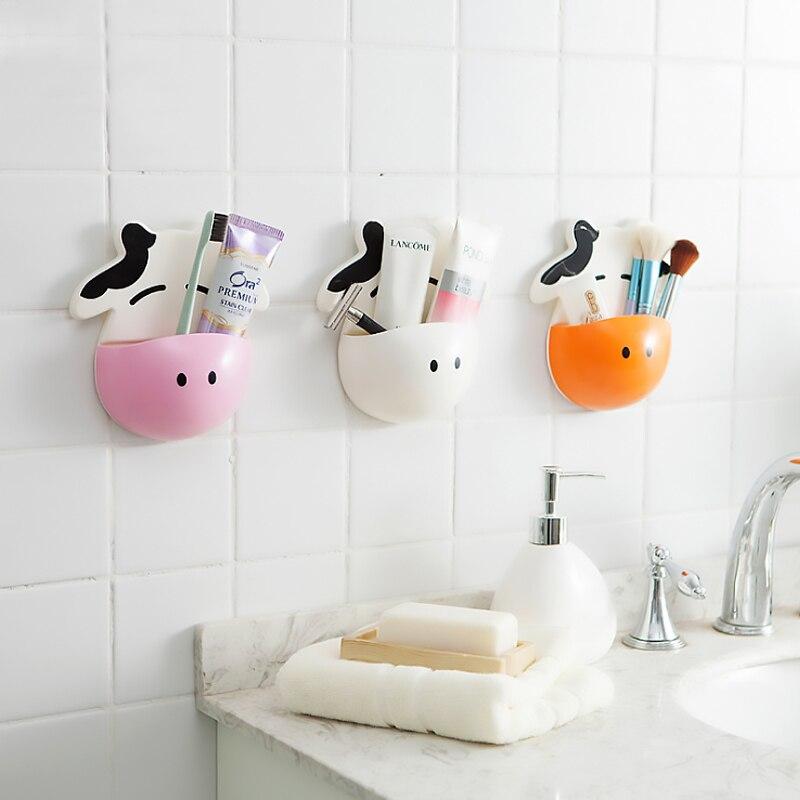 1 Uds lindo dibujo de vacas cepillo de dientes pared titular de...