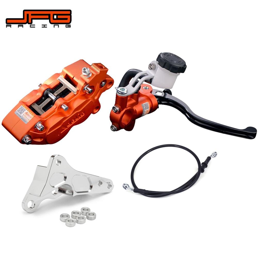 Motorcycle Brake System Brake Lever Master Cylinder Hose Caliper Adaptor For KTM SX EXC XC XCW XCF XCFW 125 150 250 450 530