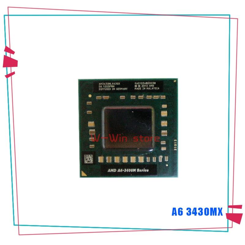 AMD A6-Series A6-3430MX A6 3430M X 1,7 GHz четырехъядерный процессор AM3430HLX43GX разъем FS1