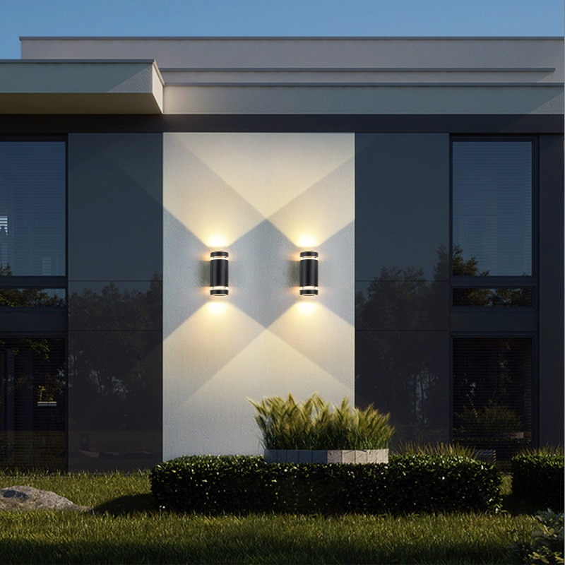 GU10 bulb garden porche corridor  porch lights  led para terraza  aplique exterior  outside lamp exterior jardin  wall sconce enlarge