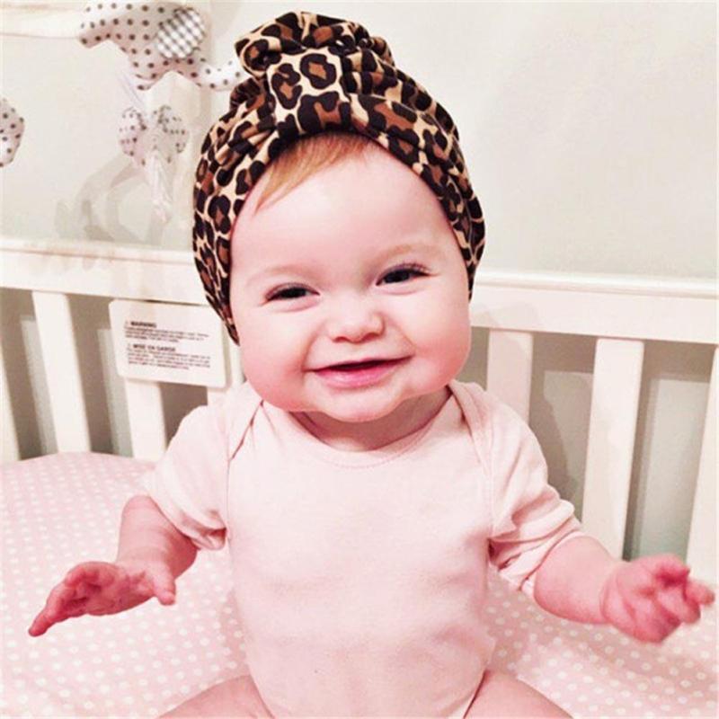 Neue Kind Leopard Baby Donut Kappe Plissee Blume Hut Neugeborenen Sicherungs Kappe