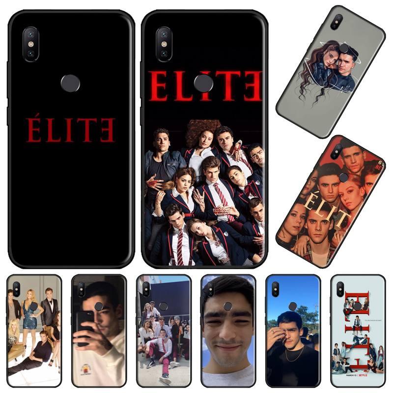 Spanisch TV serie elite Coque Shell Handy-Fall Für Xiaomi Redmi 4x5 plus 6A 7 7A 8 mi8 8lite 9 hinweis 4 5 7 8 pro