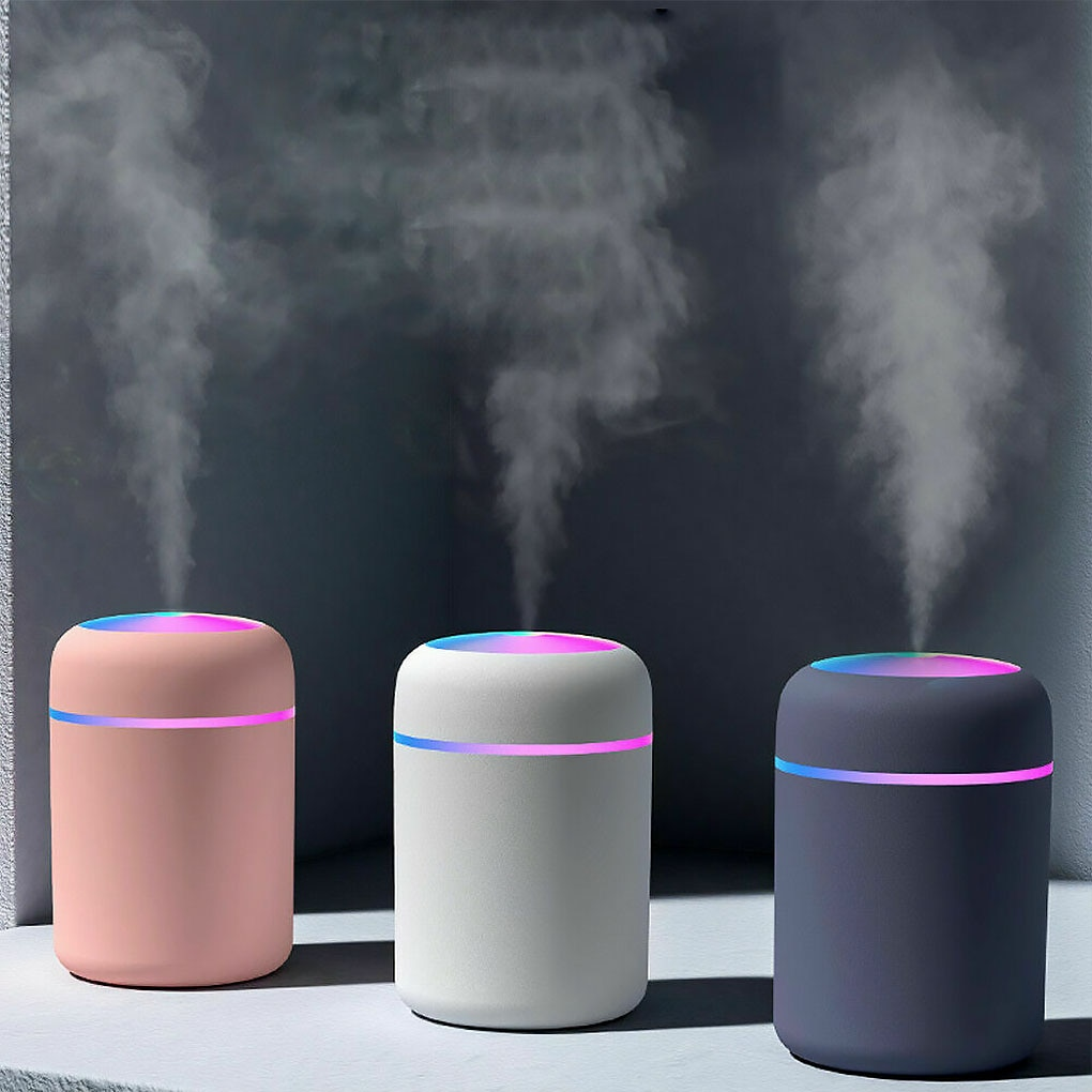 Air Humidifier 300ml Ultrasonic Aroma Essential Oil Diffuser USB Cool Mist Maker Purifier Aromatherapy for Car Home mini usb air humidifier donuts purifier aroma diffuser for home humidificador essential oil diffuser aromatherapy mist maker