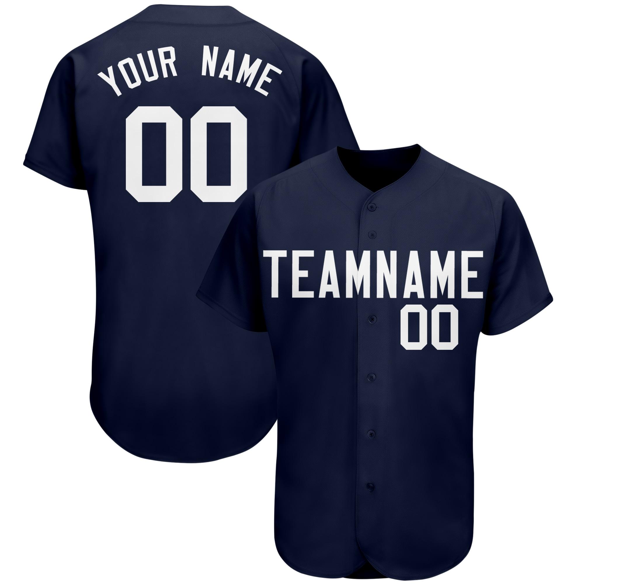 Мужские Бейсбольные Джерси без рисунка под заказ, спортивные футболки с номером и именем стежка, униформа для чирлидинга