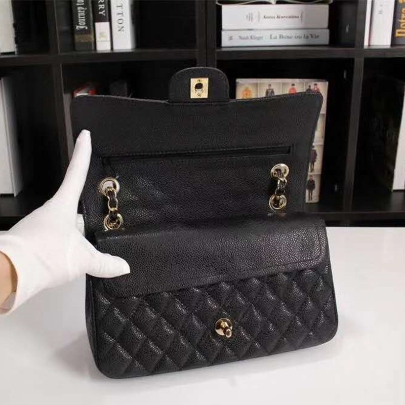 Women's Luxury Designer Quilted Elegant Retro Shoulder Bag Chain Double Flap Crossbody Bag Handbag Office Daily Fashion Black women s luxury designer elegant pu classic quilted vintage shoulder bag chain flap crossbody bag handbag office daily fashion