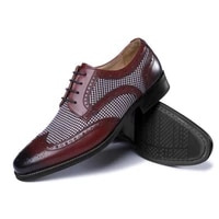 leather brogues men big size fashion wedding party men dress shoes italian designer male drivng formal shoes lace up men oxfords
