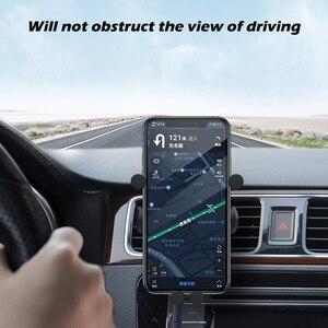Image 3 - 10 Вт автомобильное беспроводное зарядное устройство для iPhone 12 11 Pro Max XS XR X Автомобильное гравитационное крепление для Samsung S21 Note 20 Ультра зарядное устройство держатель для телефона