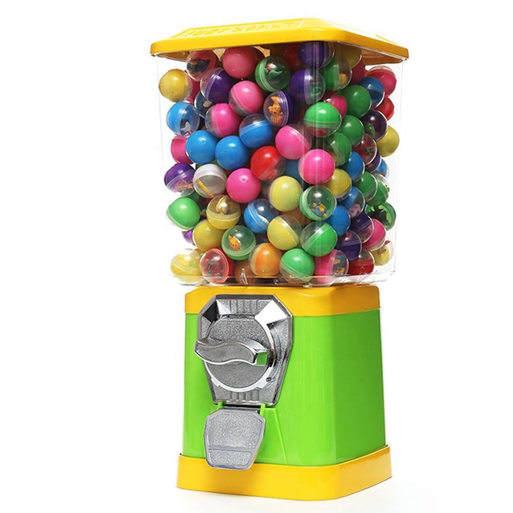 High quality gum ball candy vending machine candy dispenser capsule toy bouncy ball vending machine