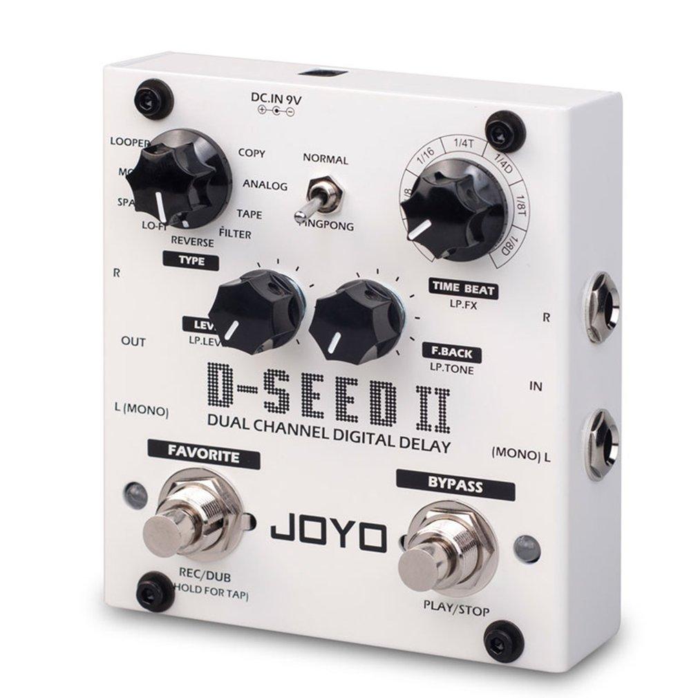 Digital Delay Pedal For Electric Guitar Floor Multi Looper & Delay Guitar Effect Pedal Guitar Bass Accessories enlarge