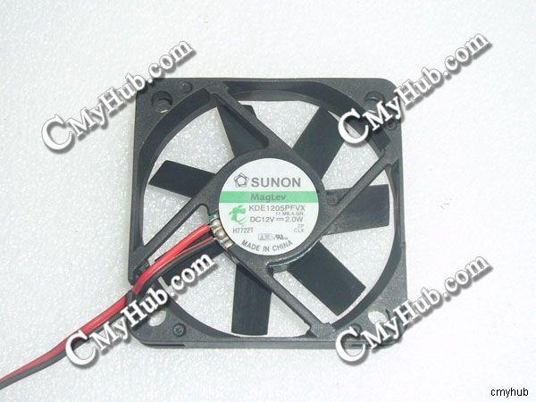 Für SUNON KDE1205PFVX 11. MS. a. GN DC12V 2,0 W 5010 5CM 50mm 50x50x10mm 2pin Lüfter