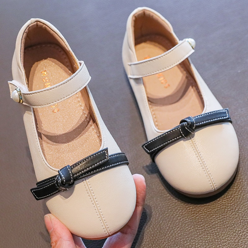 4-12 years Kids Shoes  Princess Shoes 2020 New Autumn Shoes with Soft Bottom Leather Children's Shoes