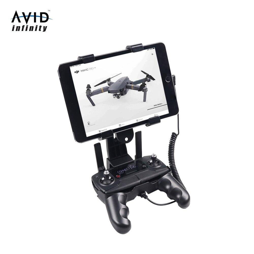 AVID Infinity Controller Holder Phone Tablet Mount Bracket Clip for DJI Mavic Mini/Mavic 2/Enterprise/Mavic Pro/Mavic Air/Spark
