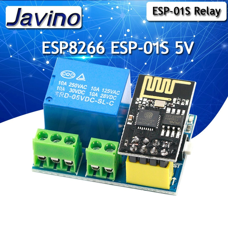 ESP8266 ESP-01S 5V WiFi Relay Module Things Smart Home Remote Control Switch Phone APP ESP01 ESP-01