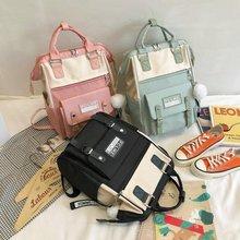 Backpacks for School Teenagers Girls Cute Ring Bag Designer Travel Laptop Backpack Women Notebook Ba