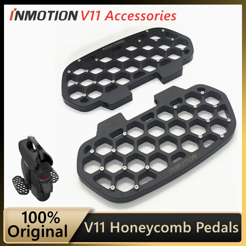 Original INMOTION Honeycomb Pedals for INMOTION V11 Unicycle Widen Pedal Cool Monowheel Accessories Pedal Assembly