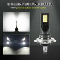 fog lights bulbs 2pcs car led headlight kits 50w 14000lm 6000k driving drl lamp