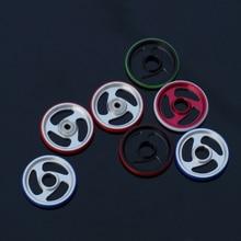 RFDTYGR Mini 4wd 19mm Aluminum Rollers Self-made Parts For Tamiya MINI 4WD 19mm Colored Aluminum Guide -Wheel D003 1set/lot