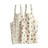 home kitchen cute apron japanese waterproof and oil proof female ultra thin nordic style summer apron
