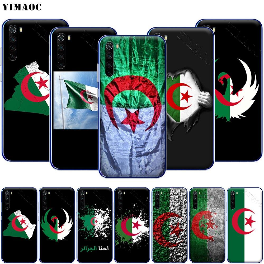 YIMAOC Argelia nacional carcasa de teléfono de bandera para Xiaomi mi 9T 9 8 6 SE F1 CC9 CC9E A3 A2 A1 ir S2 K20 Pro Lite