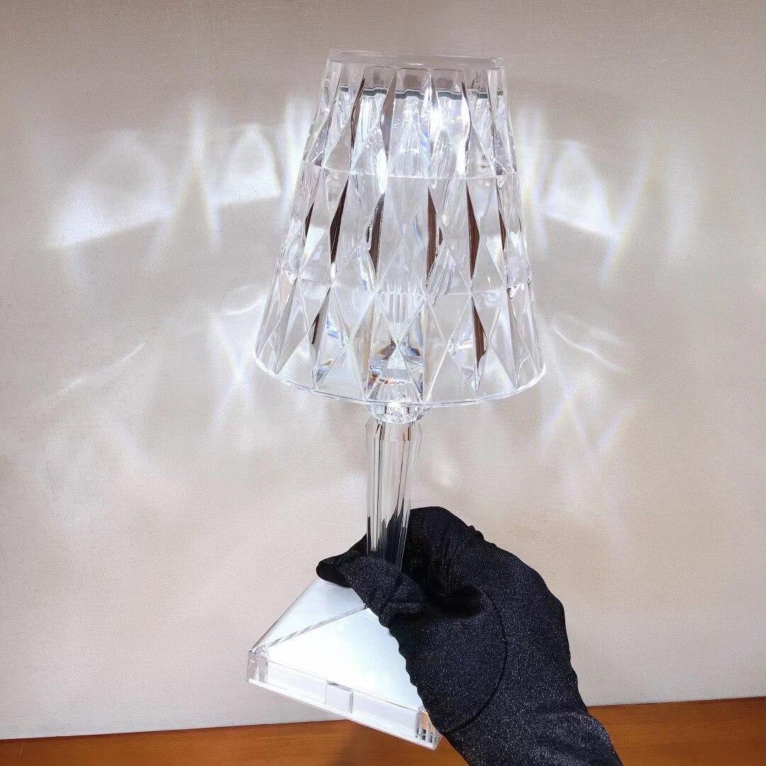 LED Table Lamp Bedroom Lamp Home Lamp Art Table Lamp LED Acrylic Table Lamp LED Crystal Table Lamp enlarge