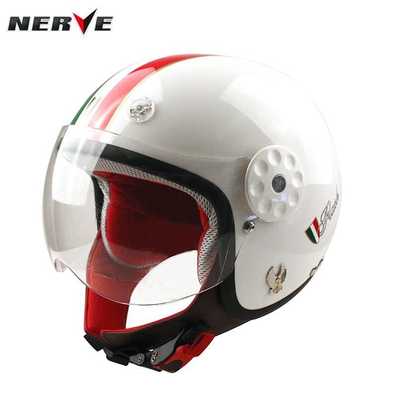 Germany Nerve Kevlar Carbon Fiber CHILDRENS Helmet Half Helmet Kids Helmet Men And Women Motorcycle Helmet