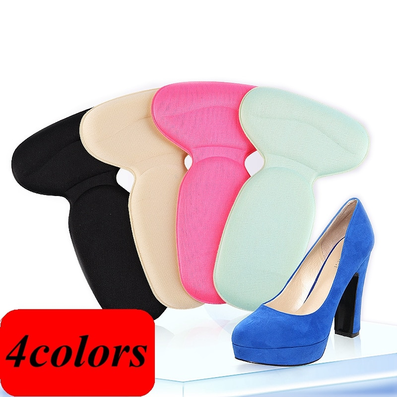 height increasing insoles for women men flat foot arch support shoes pads u shape heel cup comfortable increased inserts cushion 1Pair T-Shape High Heel Grips Liner Arch Support Orthotic Shoes Insert Insoles Foot Heel Protector Cushion Pads for Women HT-1