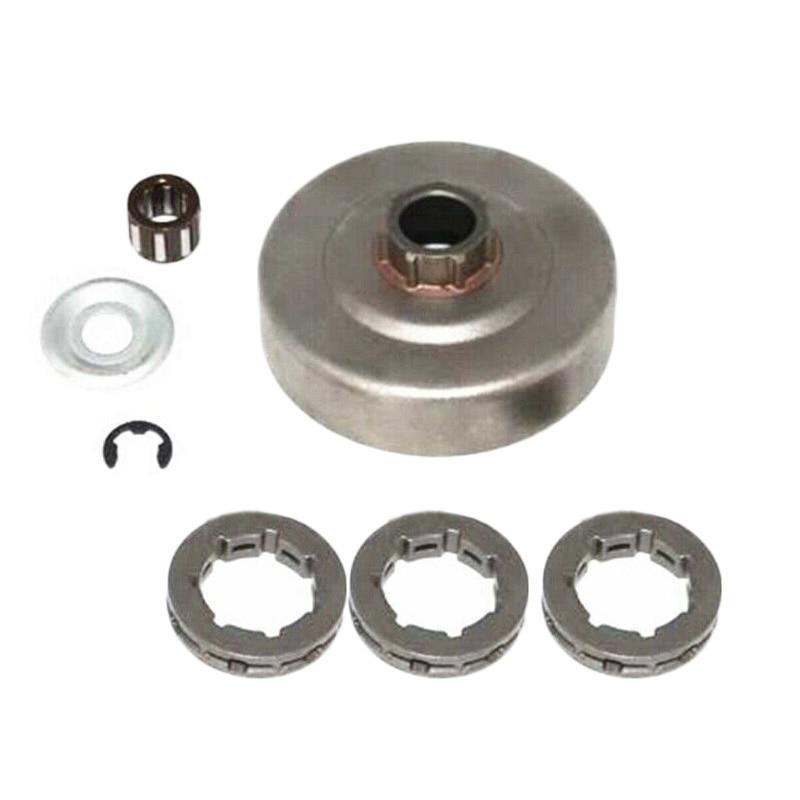 Kit de piñón de tambor de embrague de repuesto herramientas eléctricas al aire libre para Stihl 034 036 039 MS290 MS310 MS360 B38 piezas de motosierra
