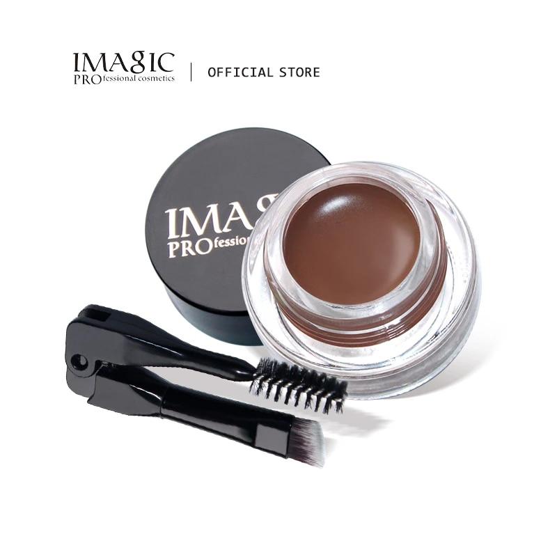 IMAGIC professional eyebrow waterproof long-lasting makeup eyebrow cream gel cosmetics недорого