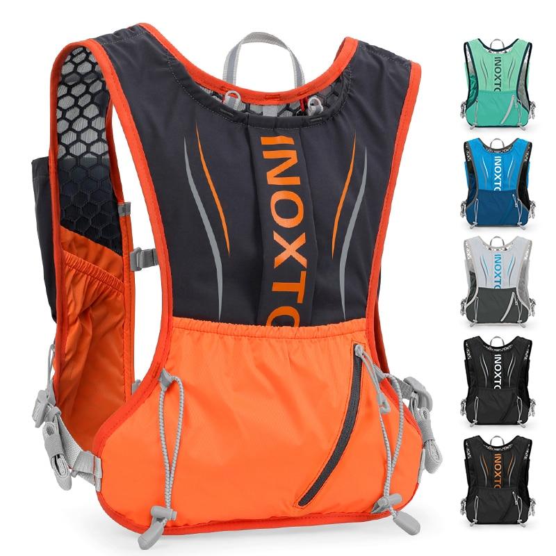 Мужской и Женский Мужской рюкзак для спорта на открытом воздухе, увлажняющий жилет для марафона, подходит для совместного использования, ве...