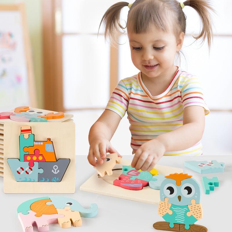 3D пазл макарон, Цветной Ручной пазл, Детская образовательная игрушка, семейный пазл, подарок для детей